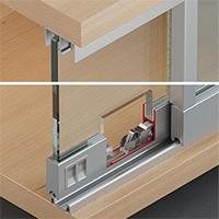 sistema armario de Vidro